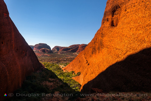 Inside Kata Tjuta - Australia by Douglas Remington - Ethereal Light® Photography