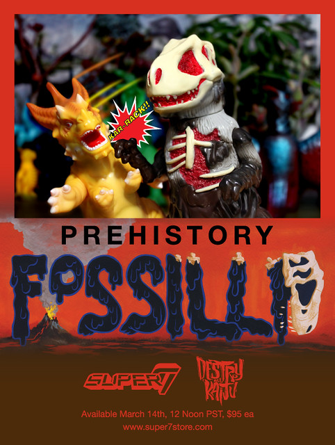 MARCH 14 - FOSSILLA PREHISTORY!