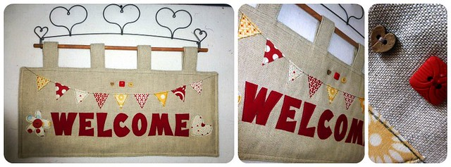 Welcome Wallhanging for Mum Mar13