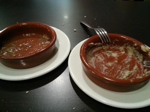 Zaragoza | Café del Marqués | Cazuelitas vacías