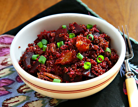Red-Quinoa-Beet-Salad