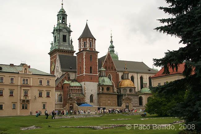 Una vista de la catedral de Wawel. © Paco Bellido, 2008