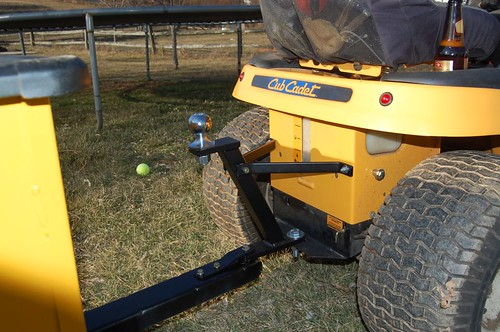 Trailer Hitch And Painted Trailer Mytractorforum Com