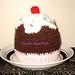 crochet hat- capcake
