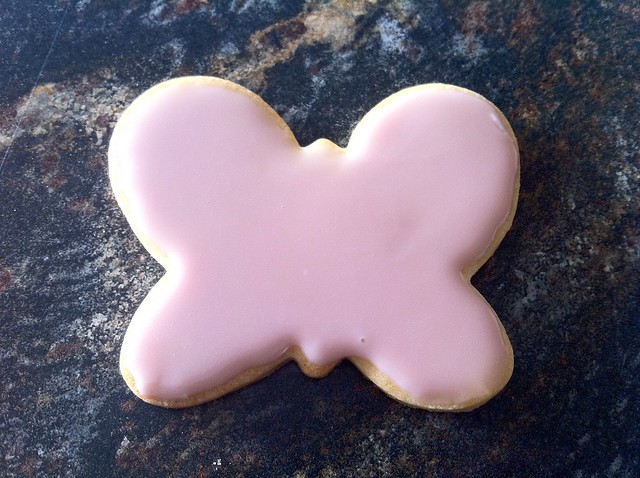 Butterfly Sugar Cookie, Pink