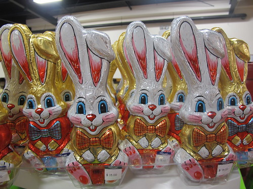 Ballantynes chocolate Easter bunnies
