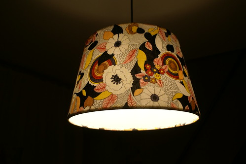 Lamp by night