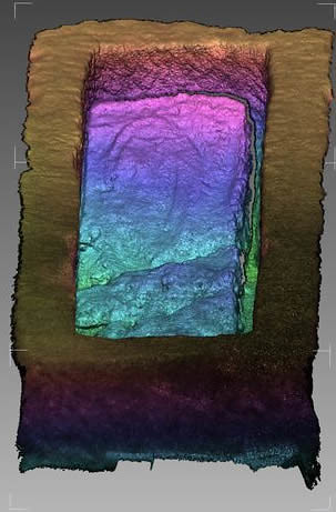 Laser scan data - sarcaphogus
