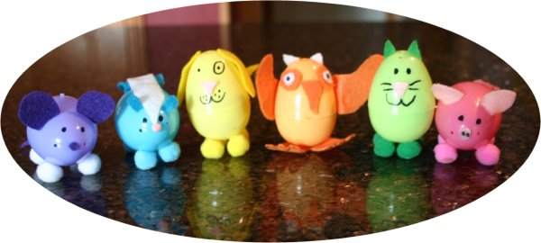 The gallery for --> Plastic Easter Egg Crafts For Kids