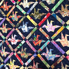 Peace quilt by Scrappy quilts