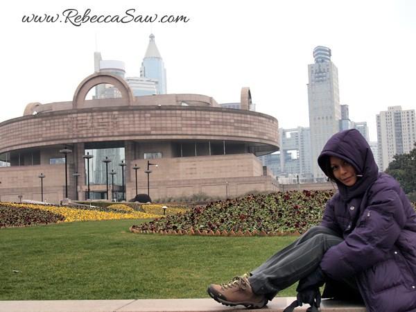 Rebecca saw 1People's Square Shanghai Rebecca Saw