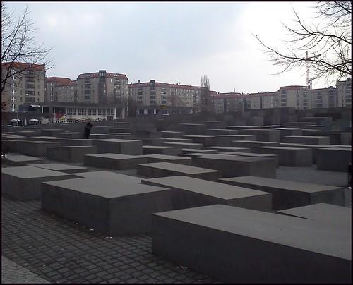 Monumento al holocausto. Berlín