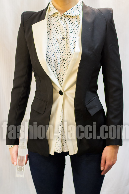 shop asymmetrical blazer small not large