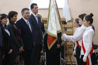 Celebración del 21 de marzo en la Escuela Benito Juárez de Varsovia