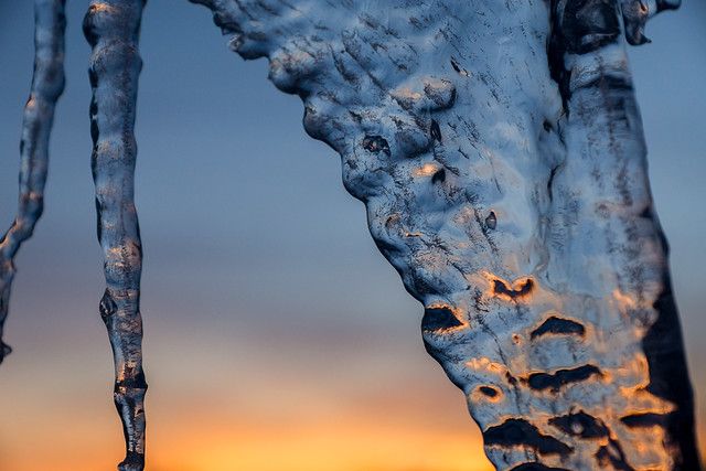 Ice, Icicles, Icicle, Blue, Winter Thaw, Winter, Spring