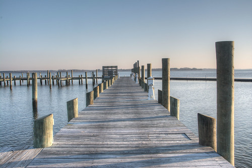 morning cambridge sunrise river dock day maryland clear chesapeake photomatix choptank cocoabiscuit d7100