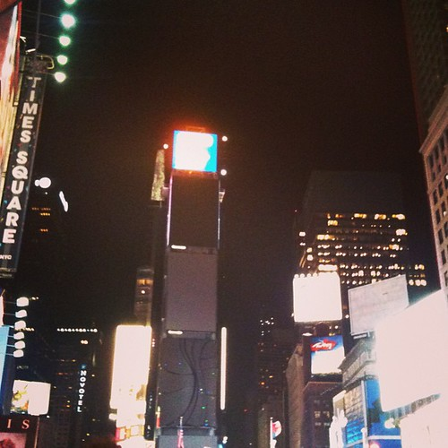 Earth Hour Times Square
