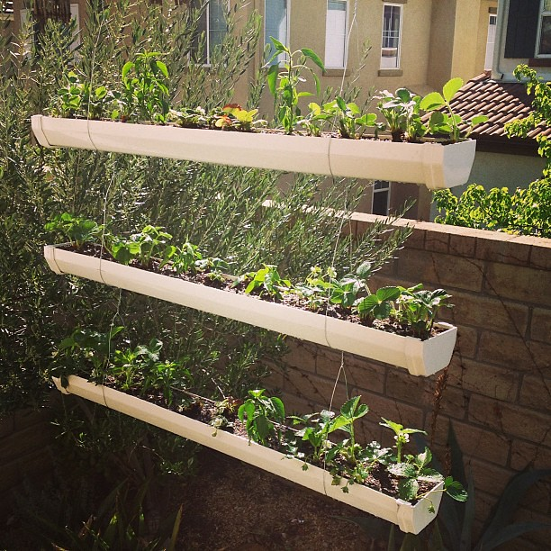 3 Tier Strawberry Planter: My New #homemade 3-tier Hanging Planters, Expanding The
