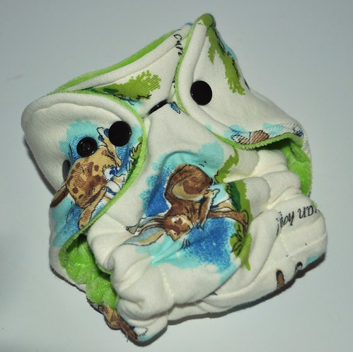 Bumstoppers Newborn Hop Hybrid Fitted **New Style**