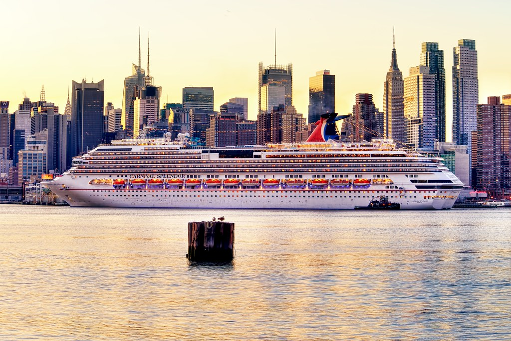 The Carnival Splendor @ New York City on March 23, 2013