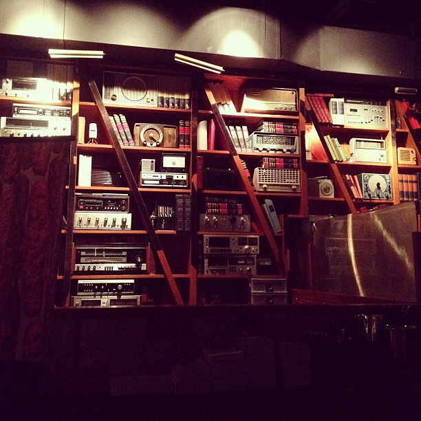 DJ's booth at @thedrakehotel