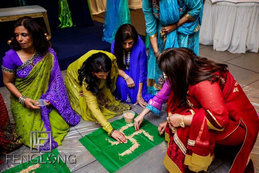 Natasha & Karim's Pithi | Parra Villa Function Lounge | Sydney Destination Indian Ismaili Wedding Photography