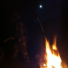 By the light of the moon #camping #outdoors #AdventureZ