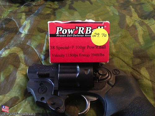 Ruger LCR, Power Ball Ammo