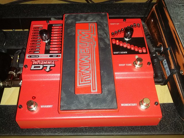 Photo:I got a new guitar pedal: The DigiTech Whammy DT By colmmcsky