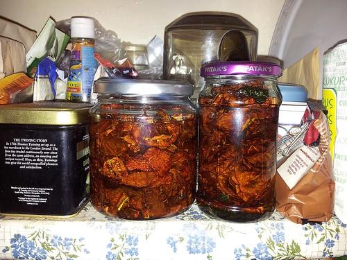 Kuivatatud tomatid