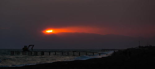 Sonnenuntergang; copyright 2013: Georg Berg