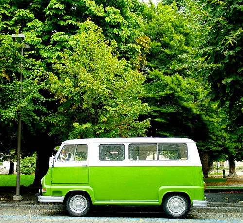 [フリー画像素材] 乗り物・交通, 自動車, 緑色・グリーン ID:201303300000