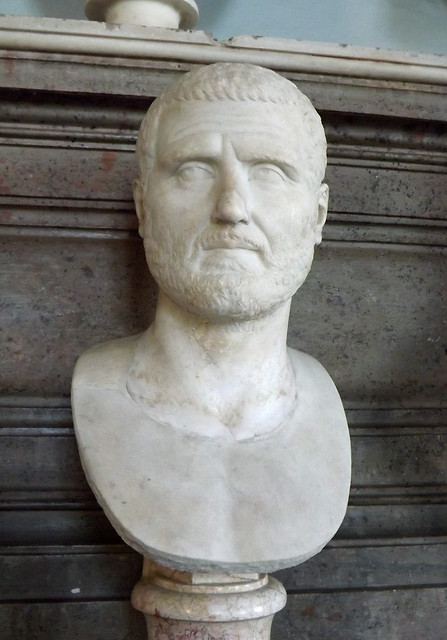 Bust of Gordian I in the Capitoline Museum, July 2012