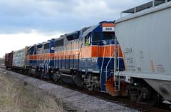 MMID GP38-3AC-305, 306 W/B UBHF at Keymar, MD