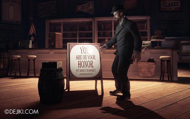 BioShock Infinite - Shop on your honor