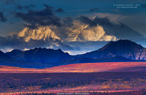 Mt.Denali (aka Mt.Mckinley) and the Alpine Tundras