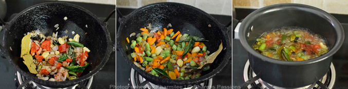 How to make vegetable soup - Step2