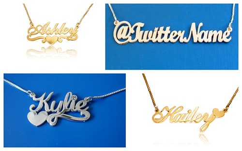 Cool Bridesmaid's Gift: Trendy Personalized Necklaces by Nina Renee Designs