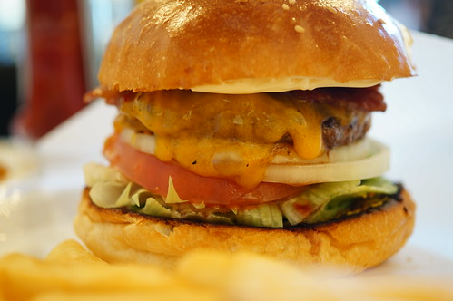 Bacon cheese burger