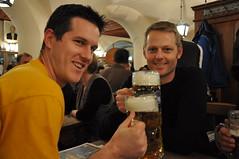 Beers at Hofbrauhaus