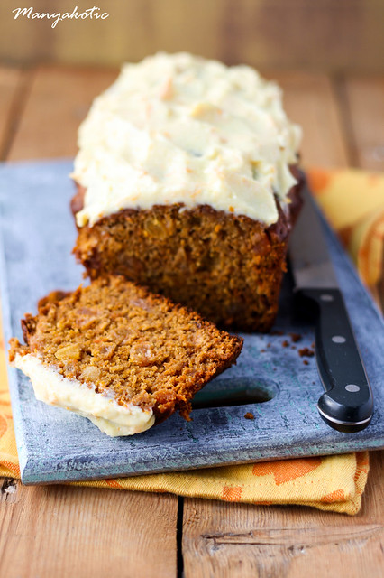 Lighter carrot cake