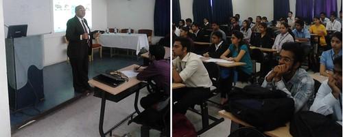 Zaveri lecture at Symbiosis Institute Pune India