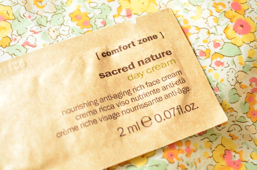 sacred nature day cream セイクリッドネイチャー