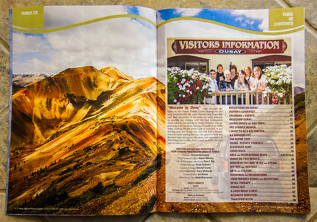 Ouray Visitor's Guide 2013 - TOC