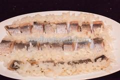 Pickled herring in cream sauce