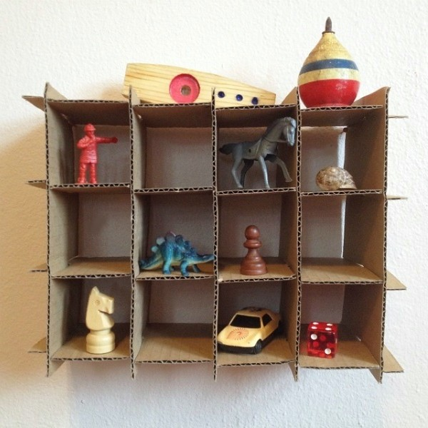 Upcycled Trinket Shelf