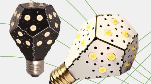 LED-лампа NanoLight - самая эффективная замена 100-ваттной лампе накаливания (Видео)