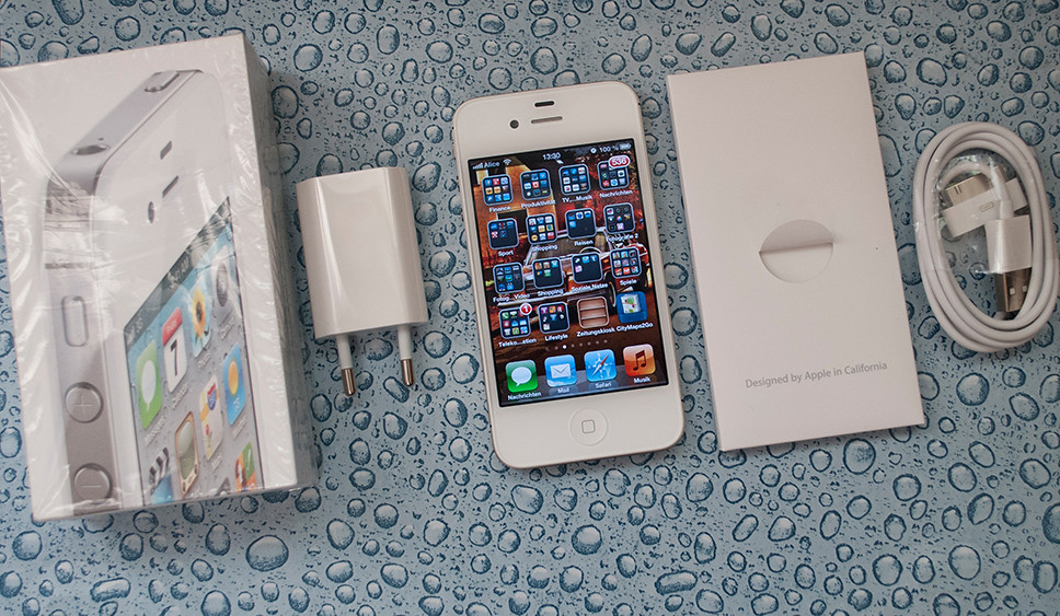 iPhone 4S 32GB white - Sell eBay -