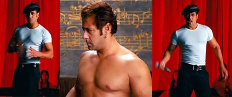 Salman Khan of 2008, in the movie Yuvvraaj