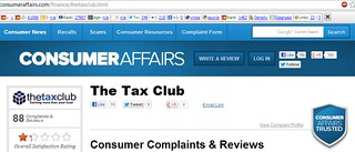 The-Tax-Club-Consumer-Affairs-Trusted